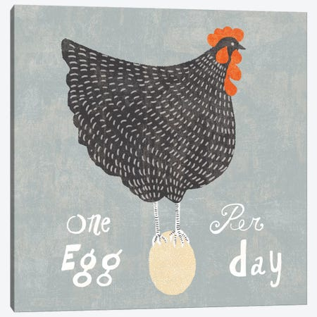 Fresh Eggs I Canvas Print #WAC6816} by Sue Schlabach Canvas Art