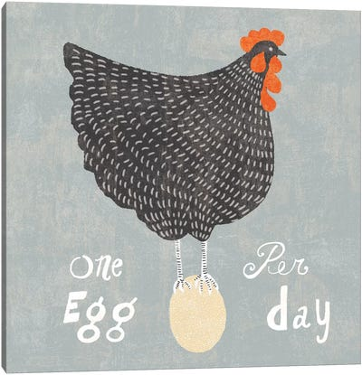 Fresh Eggs I Canvas Art Print