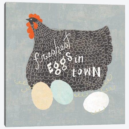 Fresh Eggs II Canvas Print #WAC6817} by Sue Schlabach Canvas Artwork