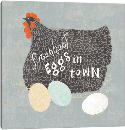 Fresh Eggs II Canvas Art Print