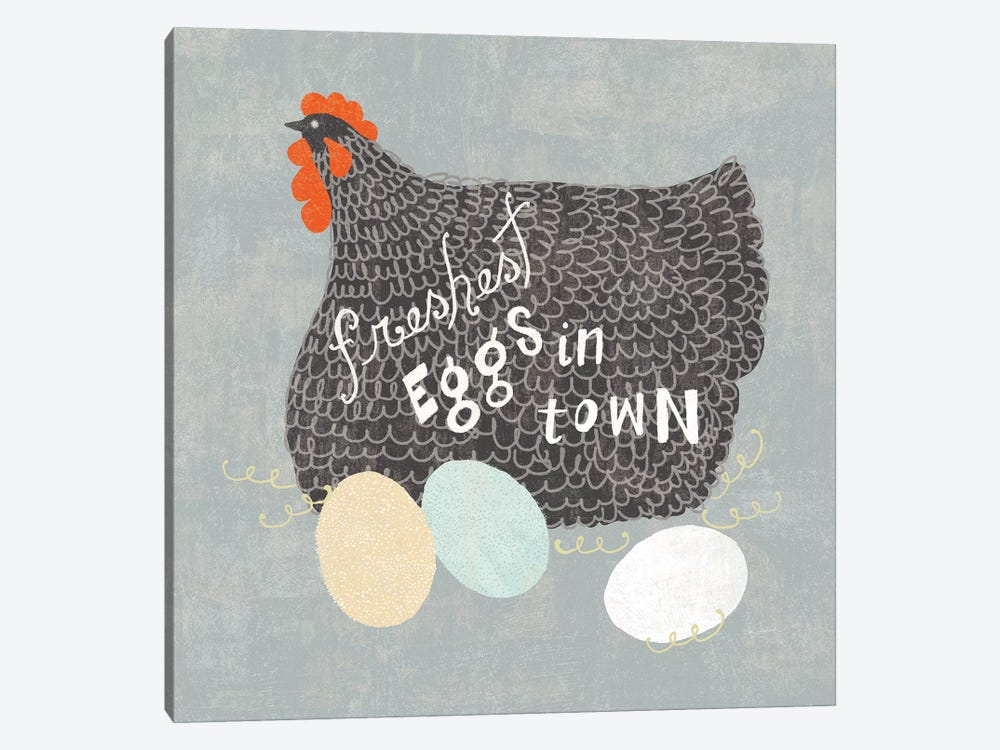 Fresh Eggs II by Sue Schlabach 1-piece Art Print