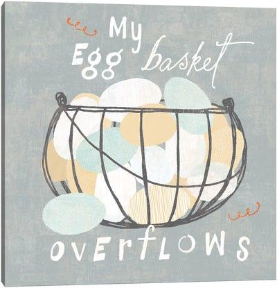 Fresh Eggs III Canvas Art Print