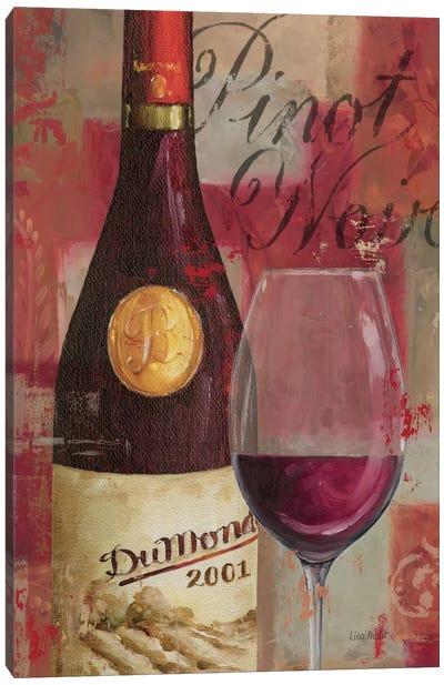 Vin Abstrait I Canvas Print #WAC681