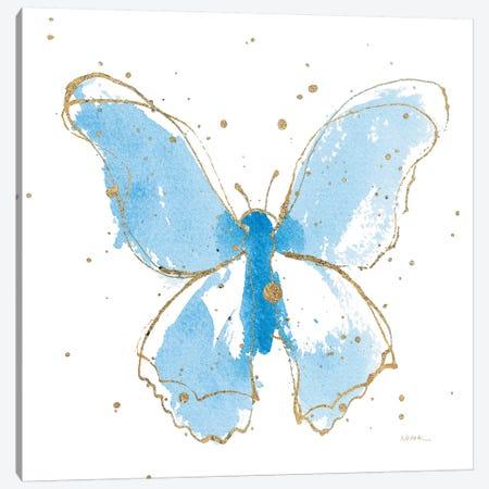 Gilded Butterflies II Canvas Print #WAC6826} by Shirley Novak Canvas Art Print