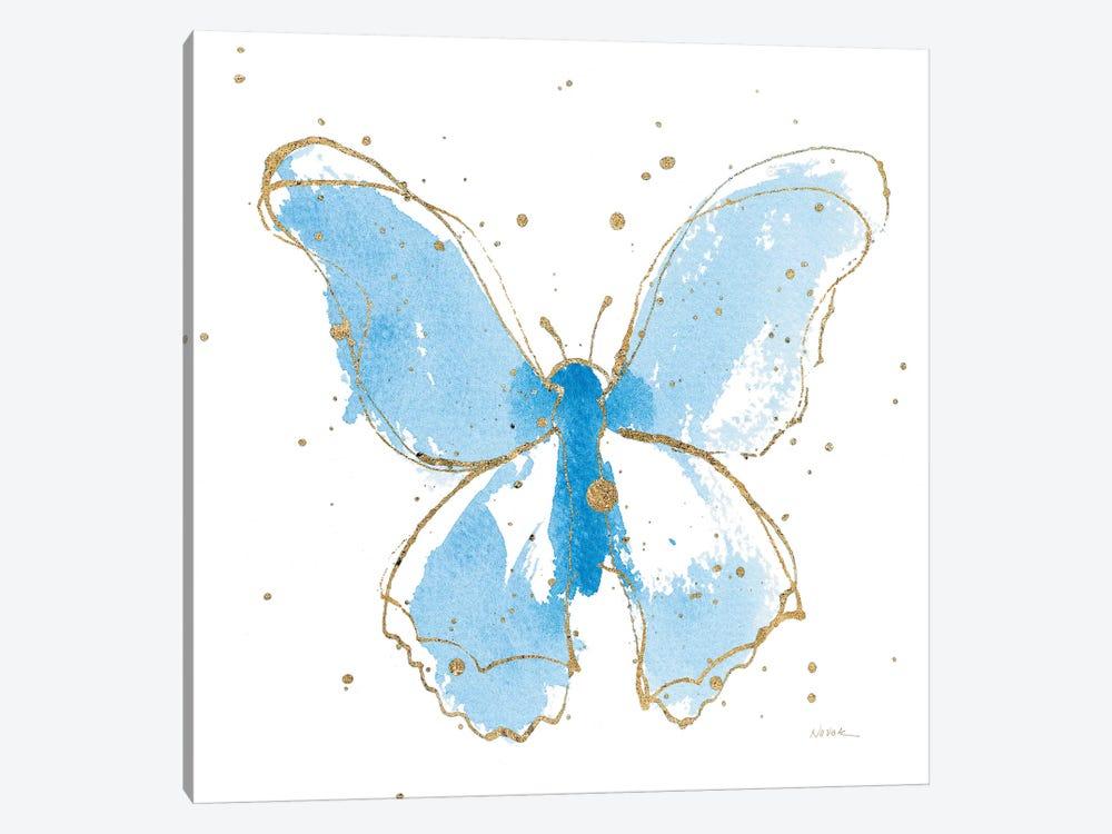 Gilded Butterflies II by Shirley Novak 1-piece Art Print