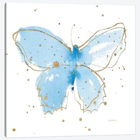 Gilded Butterflies III Canvas Print #WAC6827} by Shirley Novak Canvas Art Print
