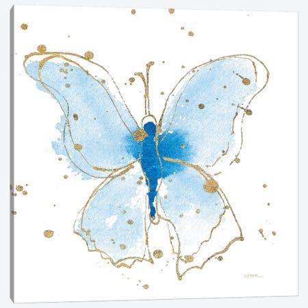 Gilded Butterflies V Canvas Print #WAC6829} by Shirley Novak Canvas Wall Art