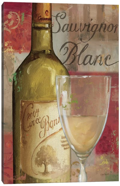 Vin Abstrait II Canvas Print #WAC682