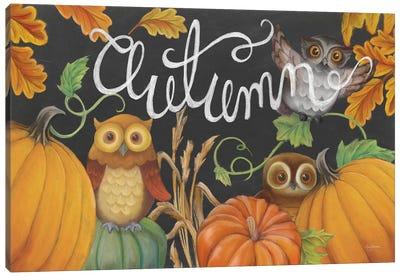 Harvest Owl II Canvas Art Print