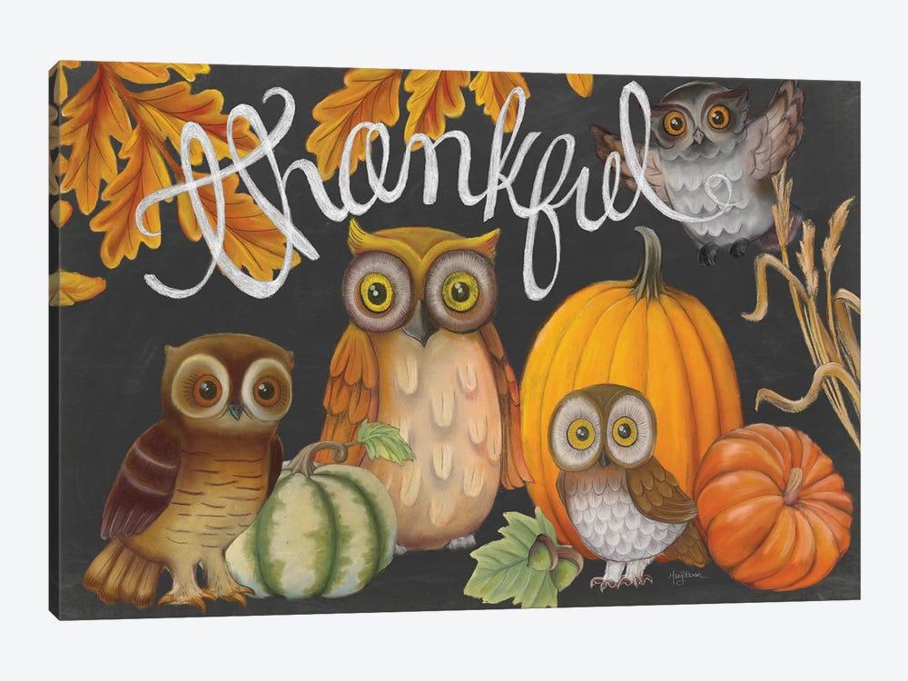 Harvest Owl III by Mary Urban 1-piece Canvas Art