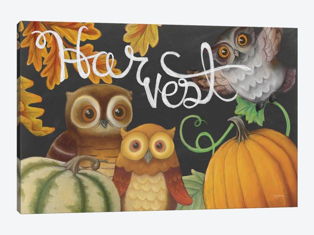 Harvest Owl IV by Mary Urban 1-piece Canvas Print