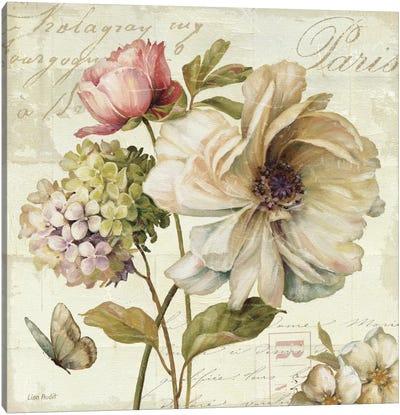 Marche de Fleurs II (without Text) Canvas Art Print