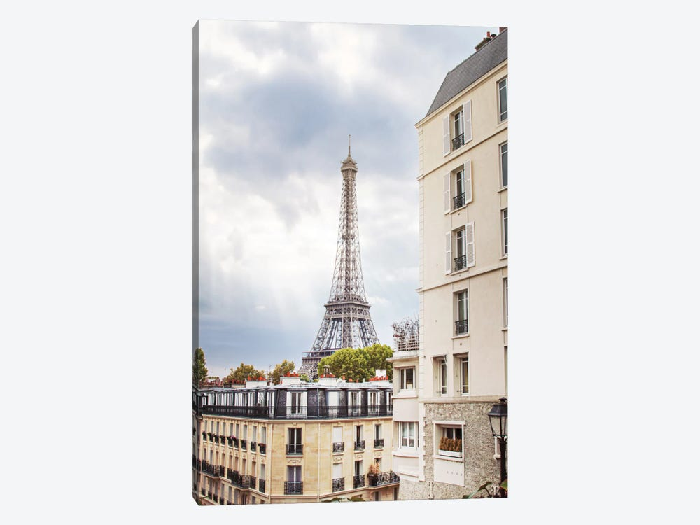 Eiffel View I by Laura Marshall 1-piece Canvas Print
