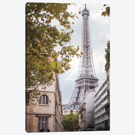 Eiffel View II Canvas Print #WAC6849} by Laura Marshall Canvas Artwork