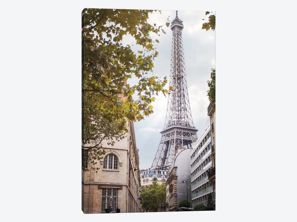 Eiffel View II by Laura Marshall 1-piece Canvas Art