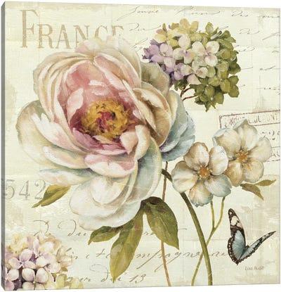 Marche de Fleurs III (without Text) Canvas Print #WAC684