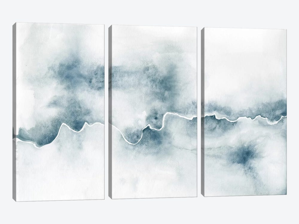 Flow by Laura Marshall 3-piece Canvas Artwork