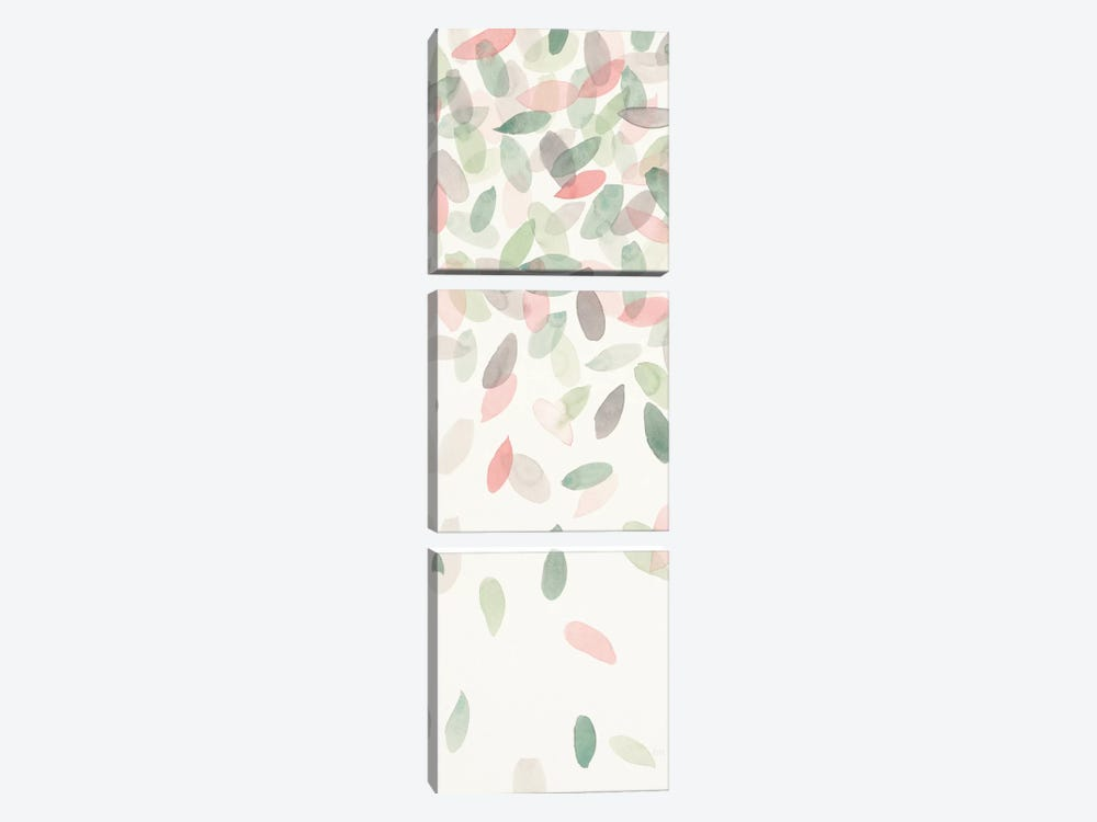 Spring Cascade IV by Laura Marshall 3-piece Canvas Wall Art