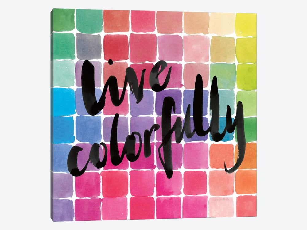 Color Quotes II by Sara Zieve Miller 1-piece Canvas Wall Art
