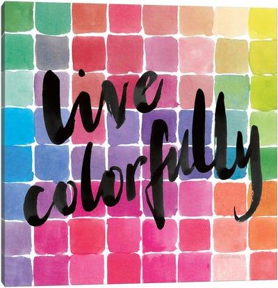 Color Quotes II Canvas Art Print