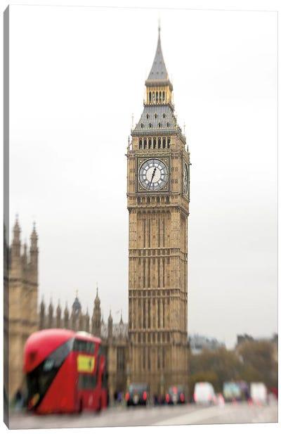 Big Ben Bus Canvas Art Print