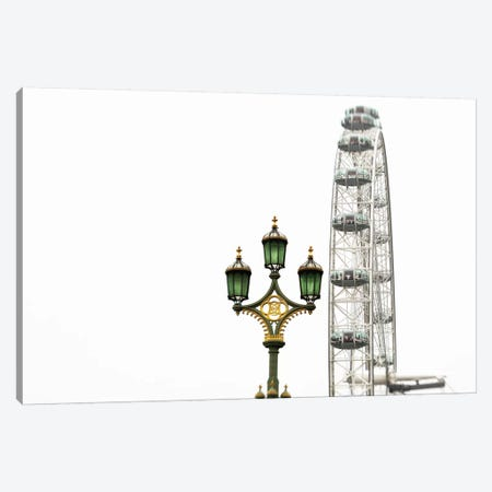 London Eye III Canvas Print #WAC6874} by Keri Bevan Canvas Wall Art