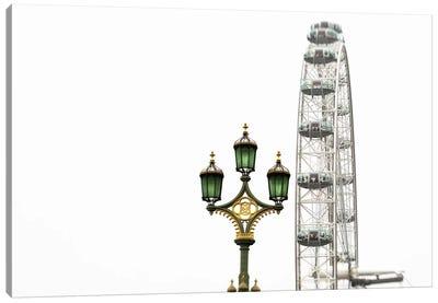 London Eye III Canvas Art Print