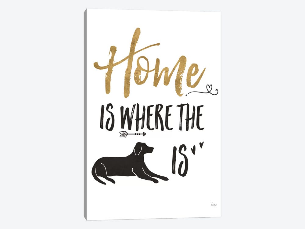 Pet Love I by Veronique Charron 1-piece Canvas Art