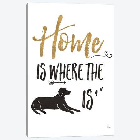 Pet Love I Canvas Print #WAC6883} by Veronique Charron Canvas Art