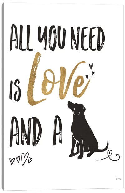 Pet Love II Canvas Art Print
