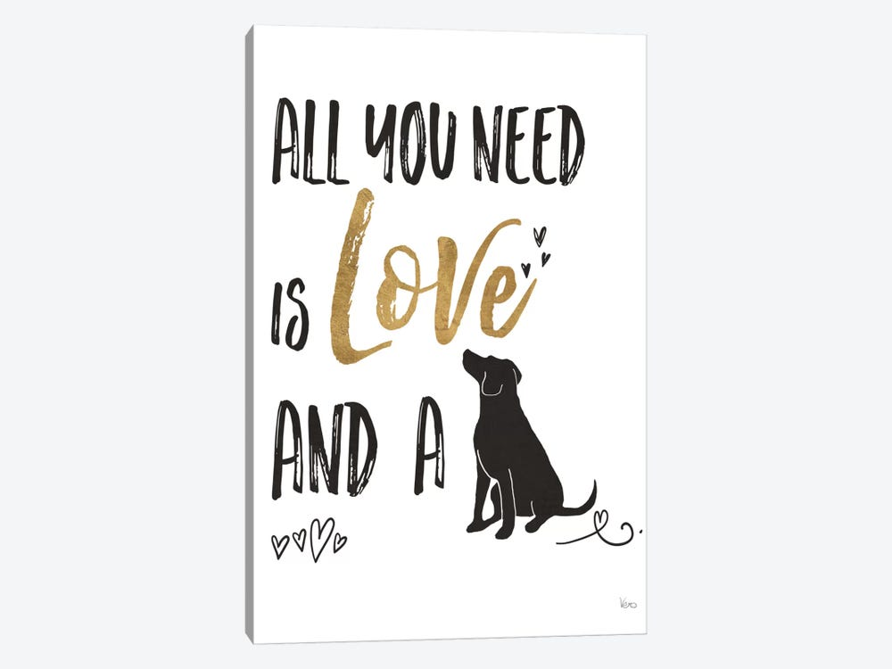 Pet Love II by Veronique Charron 1-piece Art Print