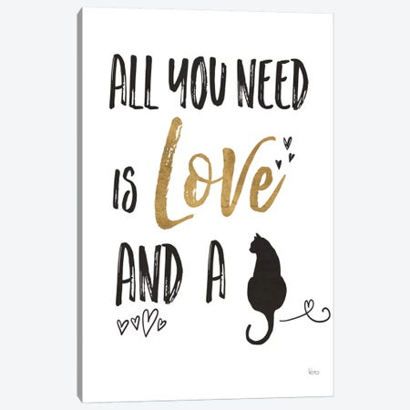 Pet Love IV Canvas Print #WAC6886} by Veronique Charron Canvas Art Print