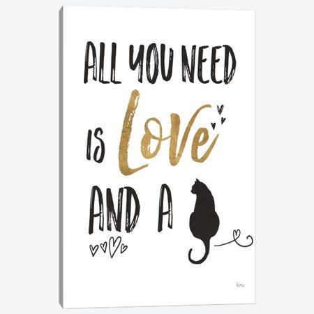 Pet Love IV Canvas Print #WAC6886} by Veronique Charron Canvas Art Print