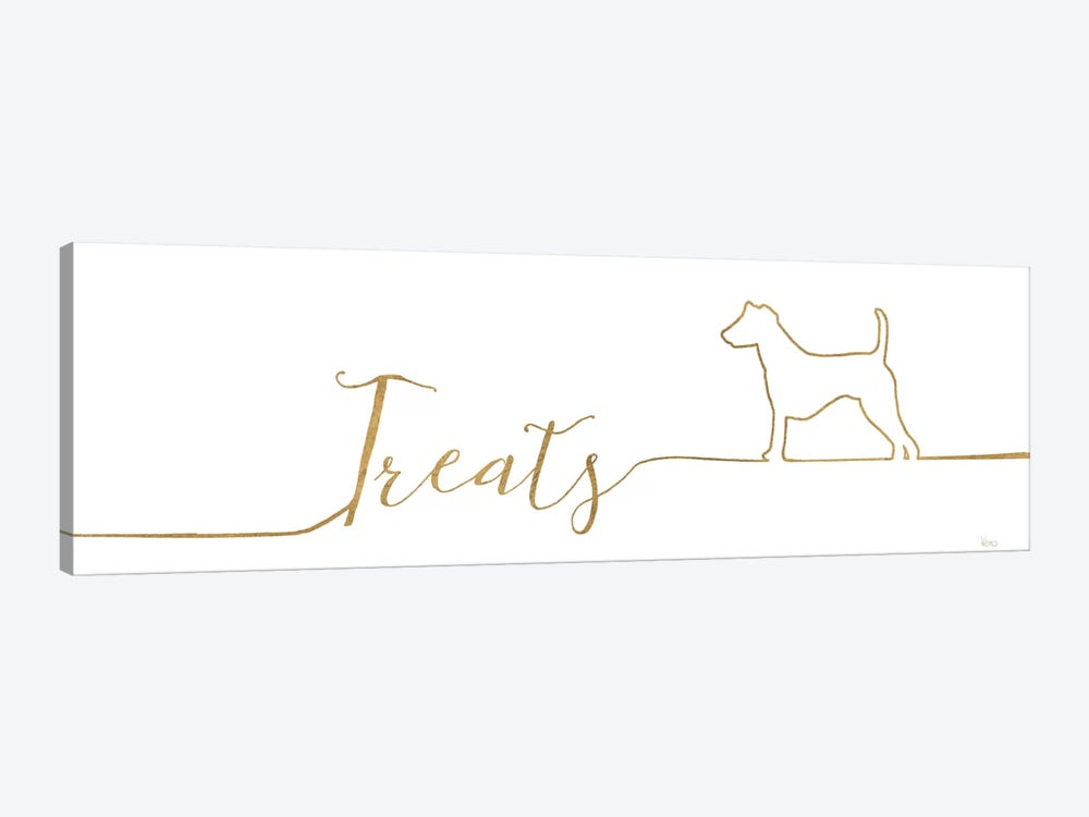 Underlined Dogs III by Veronique Charron 1-piece Art Print