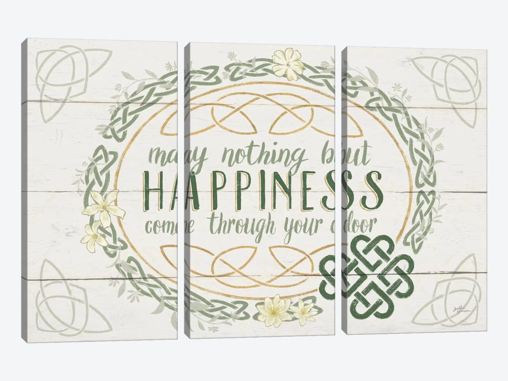 Irish Blessings V by Janelle Penner 3-piece Canvas Art Print