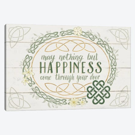 Irish Blessings V Canvas Print #WAC6895} by Janelle Penner Canvas Wall Art
