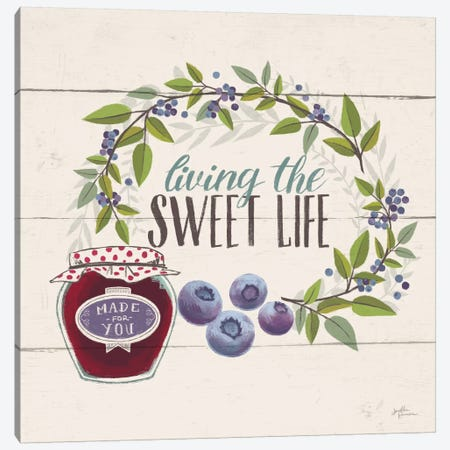 Sweet Life V Canvas Print #WAC6901} by Janelle Penner Canvas Print