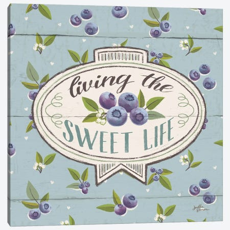 Sweet Life VIII Canvas Print #WAC6904} by Janelle Penner Canvas Wall Art