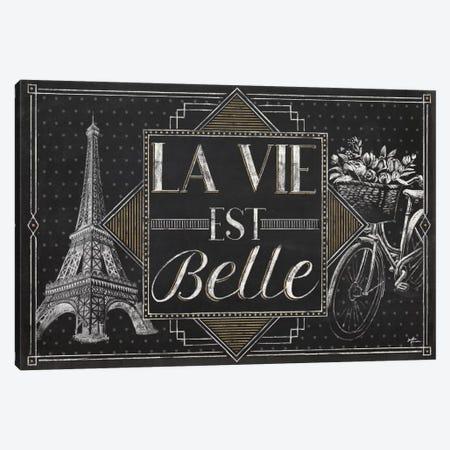 Vive Paris II Canvas Print #WAC6906} by Janelle Penner Canvas Artwork