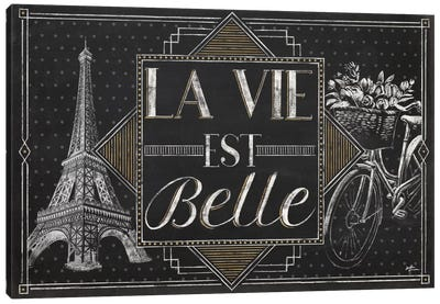 Vive Paris II Canvas Art Print