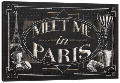 Vive Paris IV Canvas Art Print