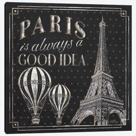 Vive Paris V Canvas Print #WAC6909} by Janelle Penner Canvas Art Print