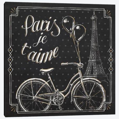 Vive Paris VII Canvas Print #WAC6911} by Janelle Penner Canvas Artwork