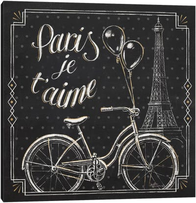 Vive Paris VII Canvas Art Print
