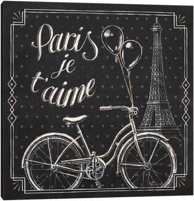 Vive Paris VII Canvas Art Print