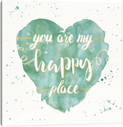 Happy Hearts II Canvas Art Print