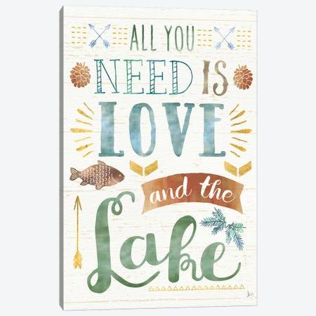Lake Love I Canvas Print #WAC6921} by Jess Aiken Canvas Art Print
