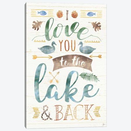 Lake Love II 3-Piece Canvas #WAC6922} by Jess Aiken Art Print
