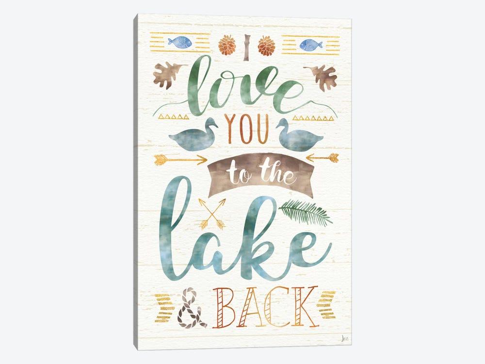 Lake Love II by Jess Aiken 1-piece Canvas Wall Art