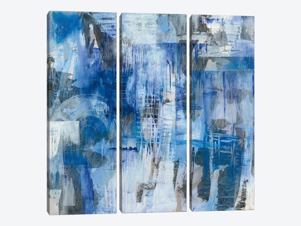 Industrial Blue by Melissa Averinos 3-piece Art Print
